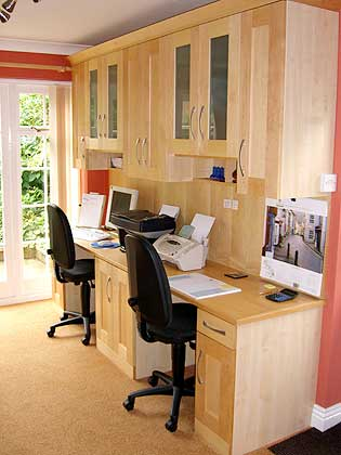 Bespoke Fitted Bedroom Home Office Furniture Window Shutters